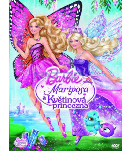 Barbie - Mariposa a Květinová princezna + přívěsek (Barbie – Mariposa & the Fairy Princess) DVD