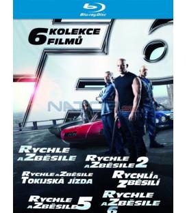 Rychle a zběsile 1-6 BOX (Fast & Furious 1-6 BOX) 2013 - Blu-ray