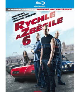 Rychle a zběsile 6 (The Fast and the Furious 6) - Blu-ray steelbook