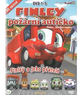 Kolekcia: Finley požární autíčko 1-5 - 5 x DVD plast box