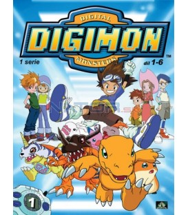 DIGIMON 1.SÉRIE - epizody 01 - 06 DVD