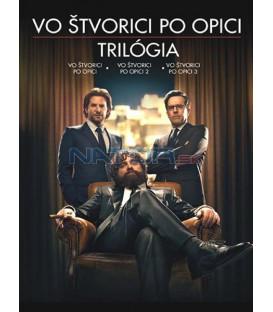 Vo štvorici po opici 1-3 KOLEKCE / PAŘBA 1-3 KOLEKCE (The Hangover 1-3 Collection ) DVD