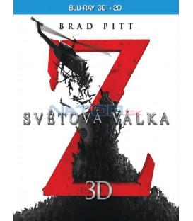 SVĚTOVÁ VÁLKA Z (World War Z) - 2Blu-ray 3D + 2D