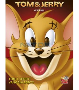 Tom a Jerry: Vánoční párty (Tom and Jerry´s: Christmas Party) - WB dětská edice DVD