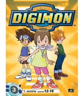 DIGIMON 1.SÉRIE - epizody 12 - 16 DVD