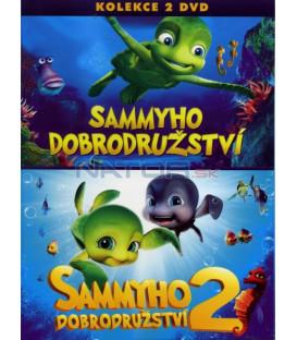 Sammyho dobrodružství 1+2:Kolekce 2 X DVD