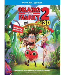 Oblačno, miestami fašírky 2 SK/CZ dabing - animovaný (Cloudy with a Chance of Meatballs 2) - Blu-ray 3D + 2D