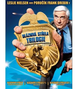 BLÁZNIVÁ STŘELA 1-3 Trilogie - 3 DVD (Naked Gun 1-3 Collection) DVD