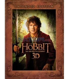 Hobit: Neočekávaná cesta - prodloužená verze (5Blu-ray 3D+2D) (The Hobbit: An Unexpected Journey - Extended Edition)