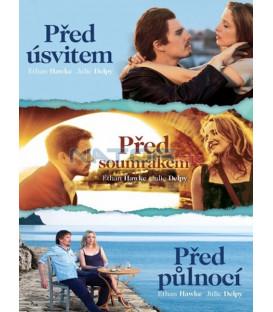 Před úsvitem, Před soumrakem, Před půlnocí kolekce 3 X DVD (Before Sunrise, Before Sunset, Before Midnight)