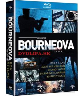 Bourneova kolekcia 4 filmov 4 x Blu-ray