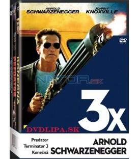 Arnold Schwarzenegger (Predátor, Terminátor 3, Konečná) - 3 DVD