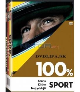100% SPORT (Senna, Kličko, Nejrychlejší) - 3 DVD