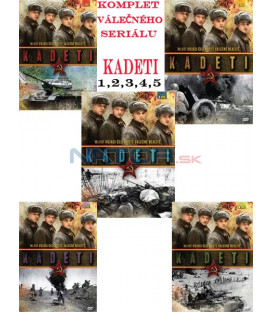 Komplet válečného seriálu: Kadeti 5 x DVD
