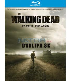 THE WALKING DEAD: Živí mrtví - 2. sezóna 4 x Blu-ray