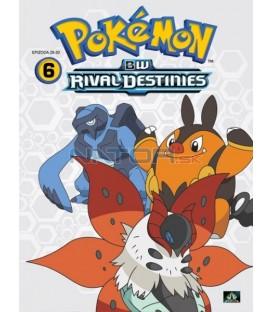 Pokémon: B&W Rival Destinies 26.-30. díl (DVD 6)