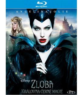 Zloba - Královna černé magie (Maleficent) - Blu-ray