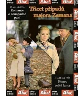 Třicet případů majora Zemana 13, 14 DVD