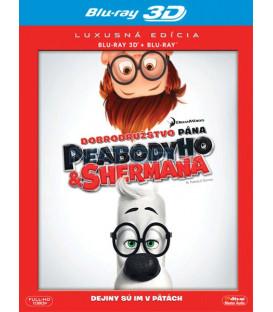 Dobrodružstvo pána Peabodyho a Shermana (Mr. Peabody & Sherman) - Blu-ray 3D + 2D
