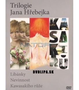 Trilogie Jana Hřebejka: Líbánky, Nevinnost, Kawasakiho růže, 3 DVD