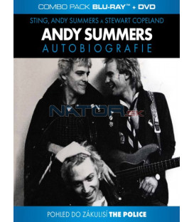 ANDY SUMMERS (One Train Later) - Autobiografie Blu-ray+DVD (Combo Pack)