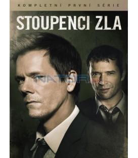 Stoupenci zla 1.série 4DVD (The Following) DVD
