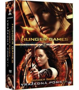 Hry o život 2012 + Hry o život: Skúška ohňom (Hunger Games) 2 x DVD
