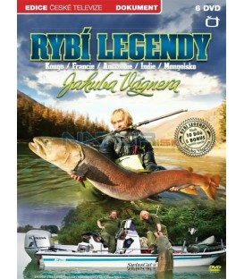 Rybí legendy Jakuba Vágnera - 6 X DVD