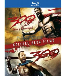 300: Bitva u Thermopyl + 300: Vzestup říše (300 + 300: Rise of an Empire) (kolekce 2 BD) - Blu-ray
