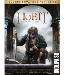 Hobit: Bitva pěti armád (The Hobbit: The Battle of the Five Armies) 2xDVD