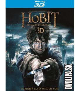 Hobit: Bitva pěti armád (The Hobbit: The Battle of the Five Armies) 4xBlu-ray 3D + 2D
