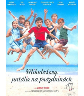 Mikulášovy patálie na prázdninách (Les vacances du petit Nicolas) DVD