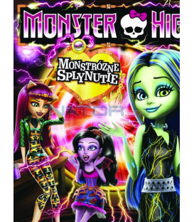 Monster High: Monstrózní splynutí ( Monster High: Freaky Fusion) DVD