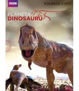 Planeta dinosauru BBC 3DVD kolekce