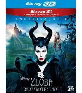 Zloba - Královna černé magie (Maleficent) - Blu-ray 2BD (3D+2D)