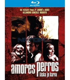 Amores perros - Láska je kurva Blu-ray