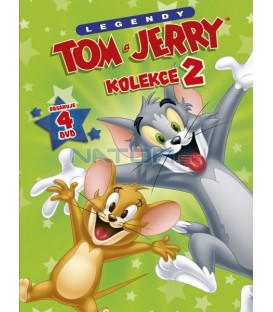 Tom a Jerry kolekce 2. 4DVD
