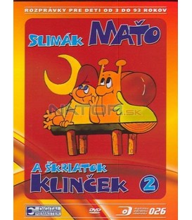 Slimák Maťko a škriatok Klinček II DVD