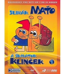 Slimák Maťko a škriatok Klinček I DVD