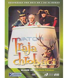 Traja chrobáci DVD