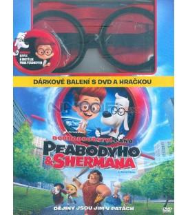 Dobrodružstvo pána Peabodyho a Shermana (Mr. Peabody & Sherman) DVD limitovaná edice, kravata + brýle