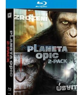 ÚSVIT PLANETY OPIC + ZROZENÍ PLANETY OPIC (2 BD) KOLEKCE - Blu-ray