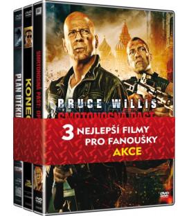 Kolekce Akční filmy (Smrtonosná past: Opět v akci, Konečná, Plán útěku) DVD