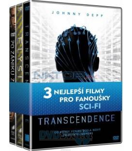 Kolekce Sci-fi (Transcendence, Elysium Po zániku Země) DVD