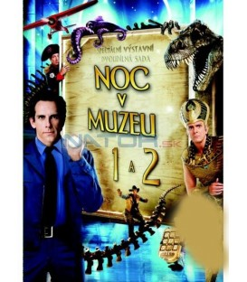 2DVD Noc v muzeu 1+2  (Night at the Museum) DVD