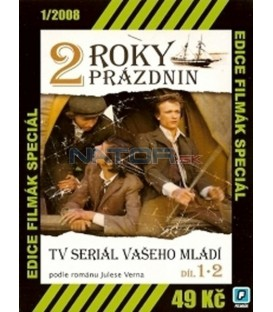 2 roky prázdnin - 1. a 2. díl (Deux ans de vacances) DVD