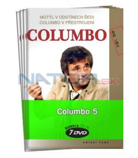 Columbo 5  -  kolekce  7 DVD