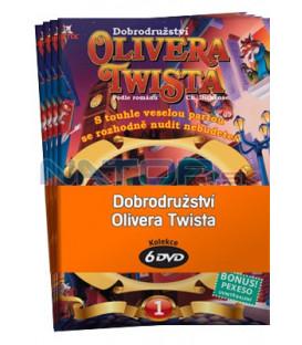Dobrodružství Olivera Twista   -  kolekce  6 DVD