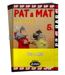 Pat a Mat  -  kolekce  6 DVD