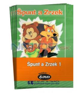 Špunt a Zrzek 1  -  kolekce  6 DVD